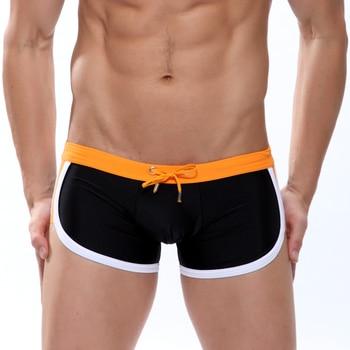 2019 Swimwear men swimsuit Sexy swimming trunks sunga hot mens swim briefs Beach Shorts mayo sungas de praia homens