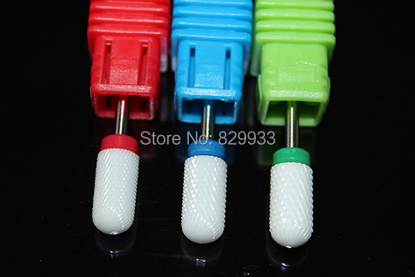 New Ceramic Nail Drill Bits Pro Toe Cuticle Feet Pedicure Callus Rasp File Foot Hard Dead Skin Corn Remover Nail Foot Care Tools