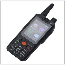 Android walkie talkie 4G SCDMA,WCDMA,TDD-LTE,FDD-LTE two way radio transceiver Smartphone Zello PTT radio Enhanced Antenna Wifi