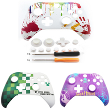 For Xbox One slim One S / Xbox one X  Controller Next Generation Game cover Front Top Up Shell Case Housing Face plate Faceplate
