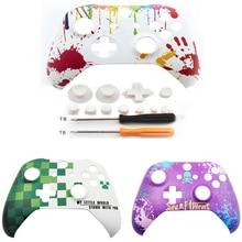 ل Xbox One سليم واحد S / Xbox One X تحكم الجيل القادم لعبة غطاء الجبهة العلوية حتى شل الإسكان الوجه لوحة غطاء