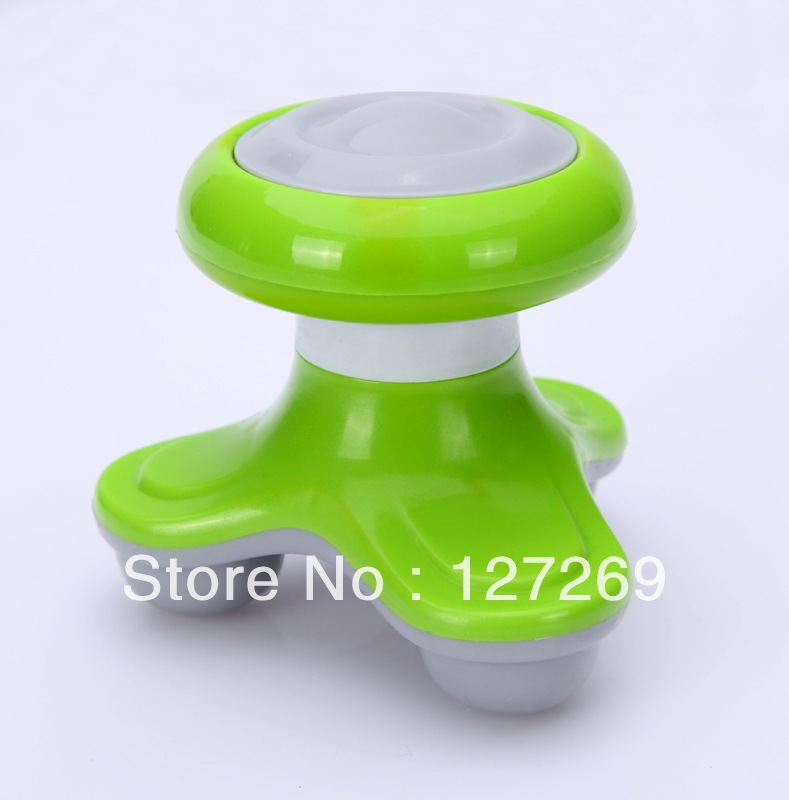 2013 New Arrival Mini Electric Massager Handheld multiconductor  Retail BK058 Free Shipping