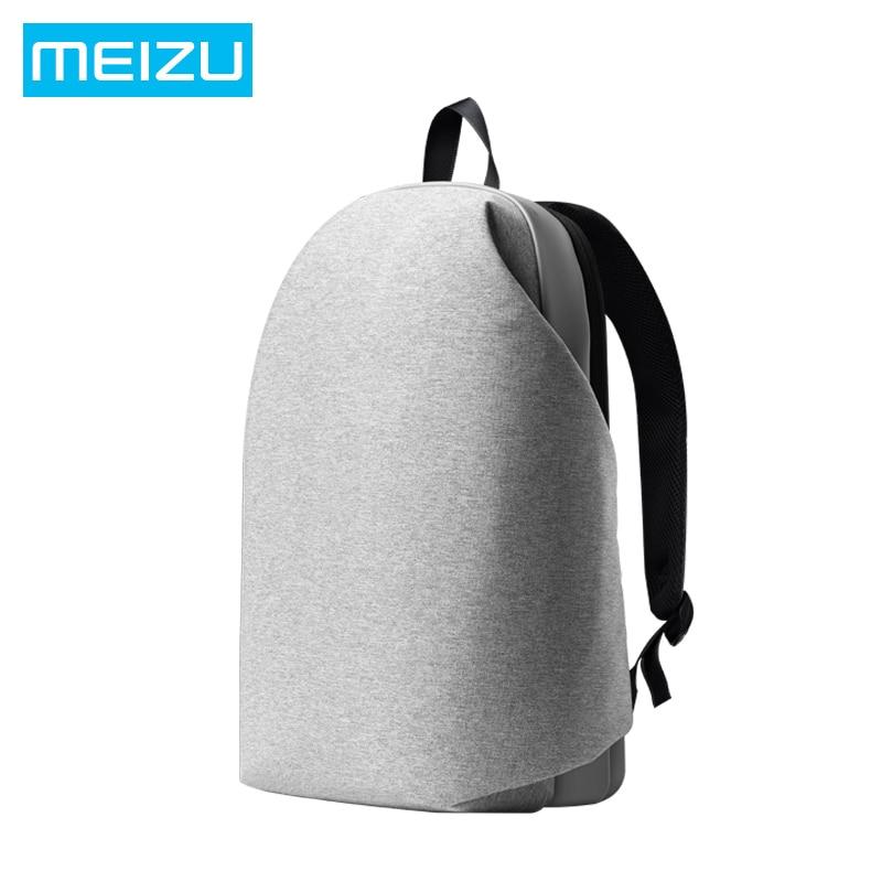 Original Meizu Backpack Waterproof Laptop Backpacks Preppy Style Women Men School Backpack Large Capacity Students Bags xi yuan backpack men preppy style camo school backpacks for boy girl teenagers high school middle school bags large capacity