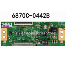 free shipping Good test T-CON board for 32/37 ROW2.1 6870C-0442B screen LED32EC330J3D(China)
