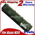 Series bateria do portátil para Asus N55SF N55SL N75 N75E N75S N75SF N75SJ N75SL N75SN N75SV A32-N45 A32-N55 07G016HY1875
