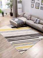 Ковер гостиной импортные Nordic геометрический диван журнальный столик pad дома современный минималистский спальня полная кровать одеяло