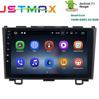JSTMAX 9 Android 7 1 Car GPS Player Navi For Honda CRV 2006 2011 With 2G