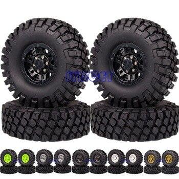 "Rock Crawler Beadlock Wheels & 1.9"" 112mm Supper Swamper Tyre Tires 617-7038 For 1/10 RC Off-Road Car Gmade D90 SCX10"