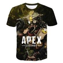 Newest 3D Apex Legends T Shirts Men/Women Summer Cool Short Sleeve T-shirt Boy/Girls TShirt Breathable Hero Clothes