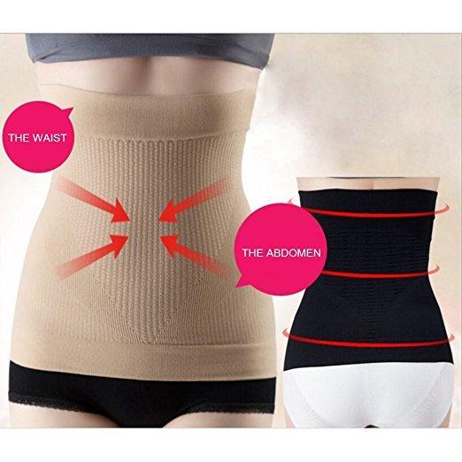 Cn Herb Postnatal Recoery Support Girdle Belt,tummy Trimmer Fat Burning Lost Weight Waist Trainer Slim 3