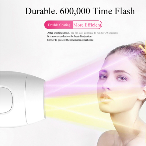 Depilador a Laser Máquina de Depilação Removedor de Cabelo Profissional Depilador Depilação Foto Permanente Dispositivo Luz Pulsada Ipl