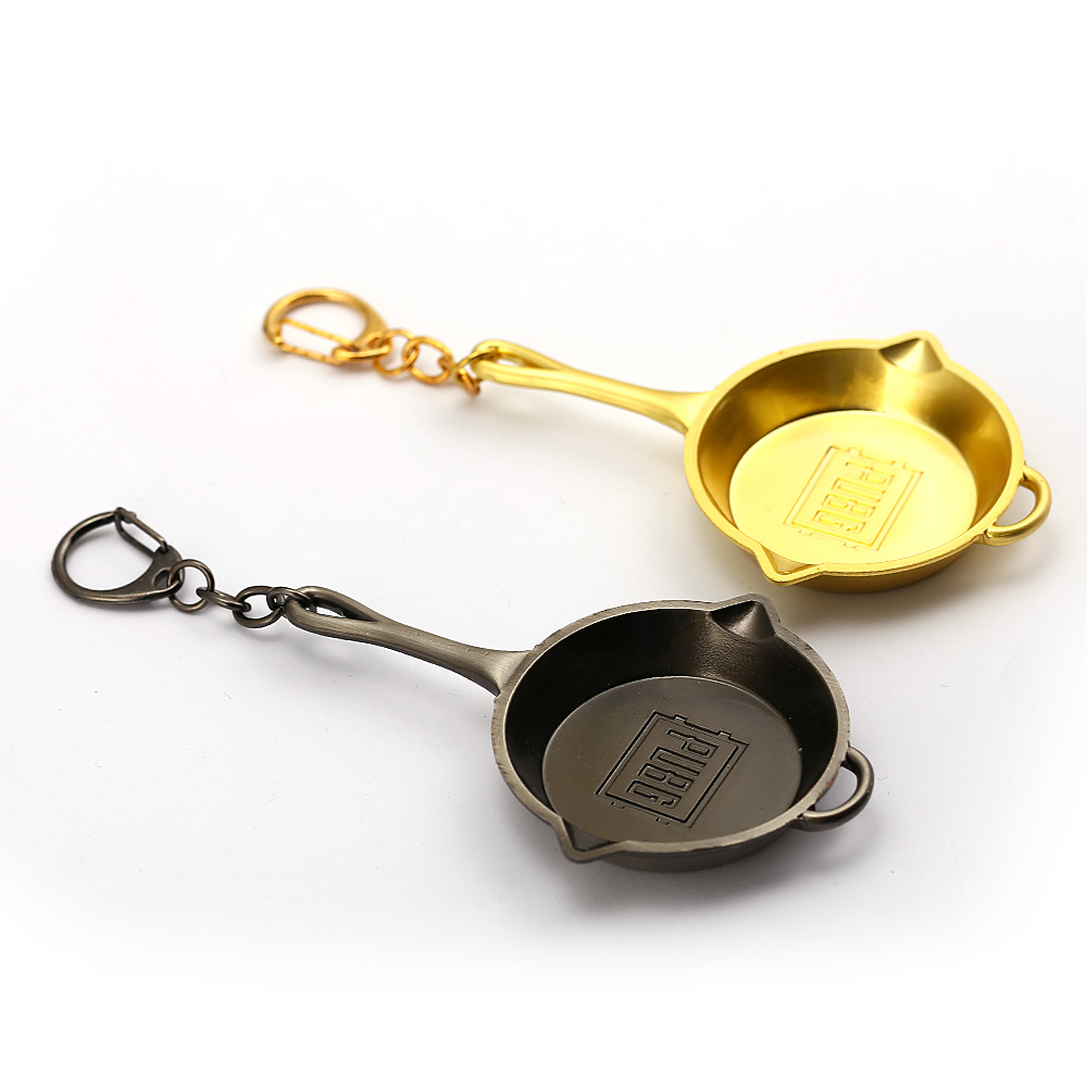 PUBG Jewelry Keychain Playerunknowns Battlegrounds Invitational Key Ring Holder Min Pans Chaveiro feminino Men Jewelry HC12762