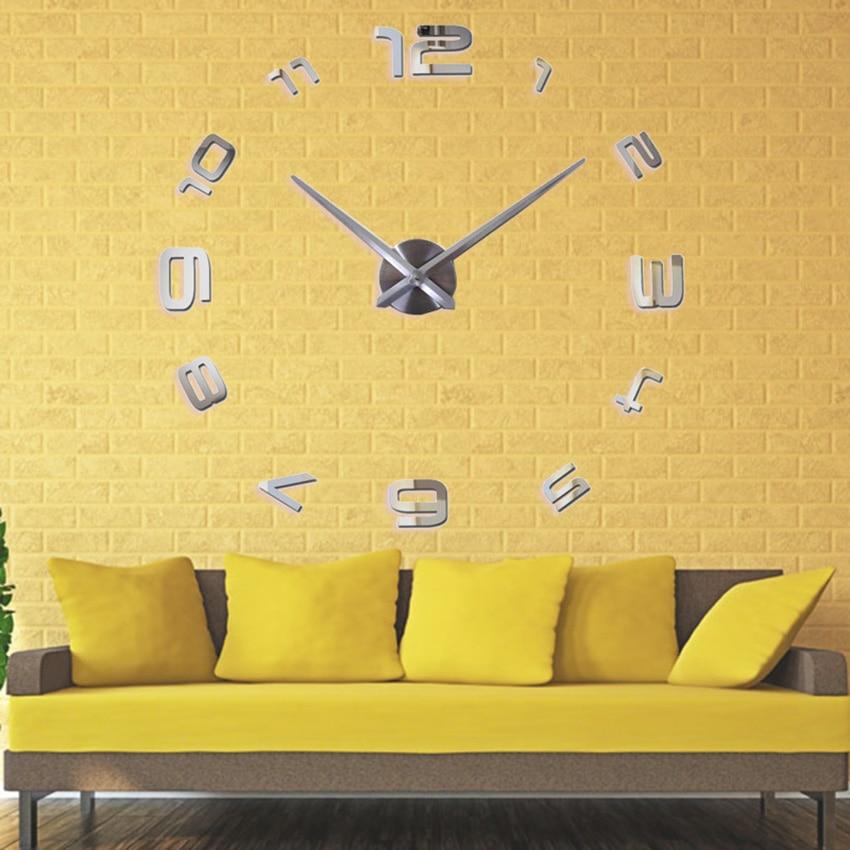 2020 Ora e re e heshtur e murit Saat Dekorimi i stilit klasik të - Dekor në shtëpi - Foto 3