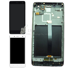Black White LCD TP or with Frame for Xiaomi Mi4 Mi 4 M4 LCD Display Touch
