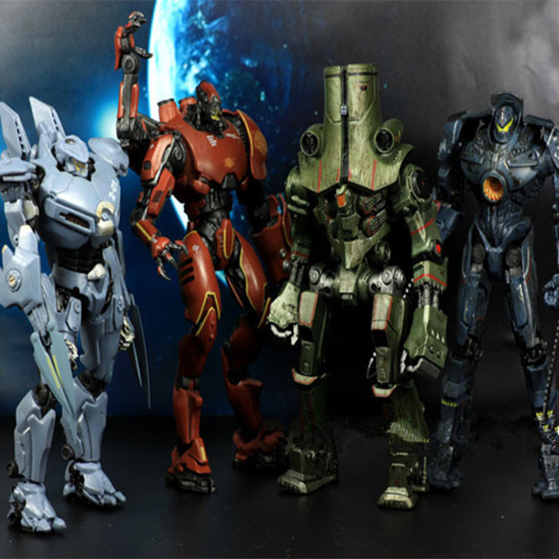 1pc/lot Pacific Rim Figures 6 Styles STRIKER EUREKA/ALPHA/GIPSY DANGER/TANGO/TYPHOON Collection Model Toys Action Figures 18cm hatsan striker alpha