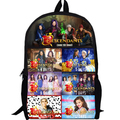 13 inch потомки Рюкзак женщины мужчины Сумка дети аниме Мальчики и Девочки начальной школы сумки на заказ