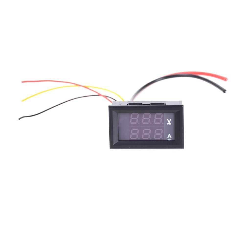 1PC Professional DC 100V 10A Voltmeter Ammeter LED Amp Dual LED Display Digital Ammeter Voltmeter Gauge