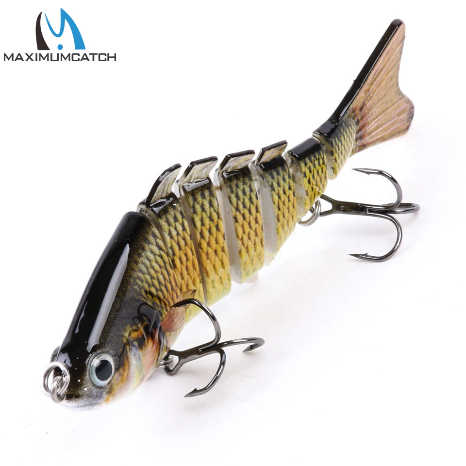 Maximumcatch Bass Fishing Lure 7 Segment Multi Jointed Bait Fishing Wobbler Hard Lure Swimbait wldslure 1pc 54g minnow sea fishing crankbait bass hard bait tuna lures wobbler trolling lure treble hook