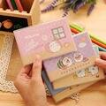 Coelho Molang Kawaii Anime Japonês Pequeno Caderno de Bolso PVC Papel do Livro de Nota Para A Loja de artigos de Papelaria do Estudante Da Escola Ou Viajantes