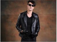 Free shipping dhl 2016 fashion winter warm brand clothing men cow leather jackets men s genuine.jpg 200x200