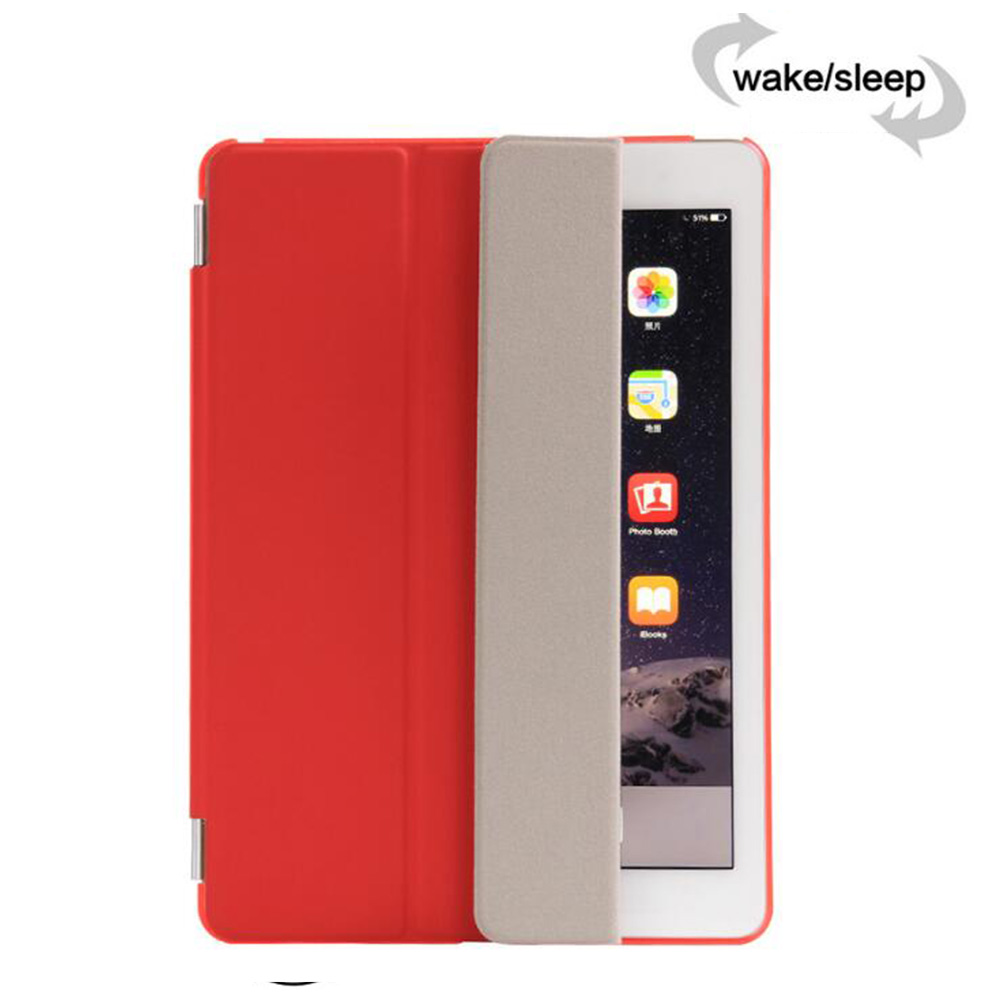 RYGOU Smart Cover para Apple ipad air 2 ipad 6 PU Funda magnética - Accesorios para tablets - foto 4