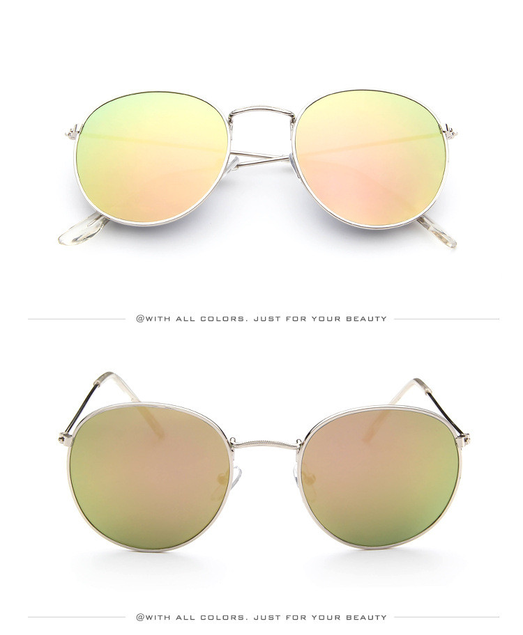 DJXFZLO Retro gafas de sol ovaladas vintage 14
