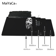 MaiYaCa mask 2 mouse pad Large Size mousepad laptop Legends mouse pad gear