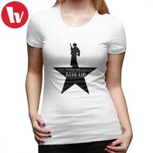 Star Wars T-Shirt Hamilton Mashup T Shirt Short Sleeve Pattern Women tshirt Green Plus Size Ladies Tee