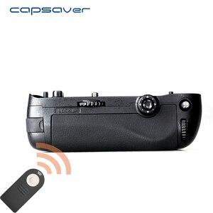 Image 1 - Capsaver אנכי הסוללה לניקון D750 מצלמה להחליף MB D16 רב כוח סוללה מחזיק לעבוד עם EN EL15 שלט רחוק
