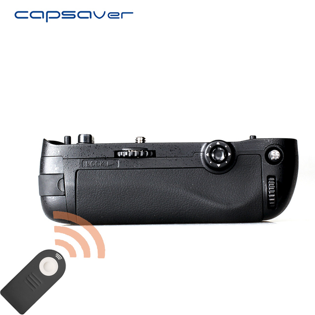 Capsaver אנכי הסוללה לניקון D750 מצלמה להחליף MB D16 רב כוח סוללה מחזיק לעבוד עם EN EL15 שלט רחוק