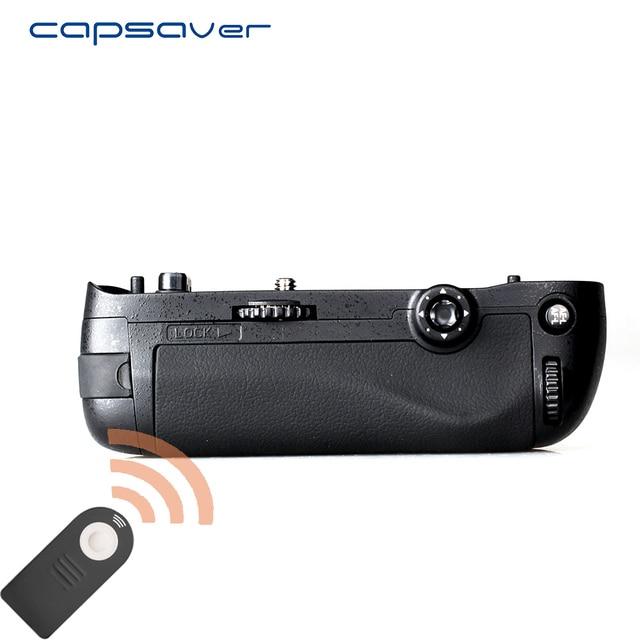 Capsaver 니콘 d750 카메라 용 수직 배터리 그립 MB D16 교체 멀티 파워 배터리 홀더 EN EL15 리모컨으로 작동