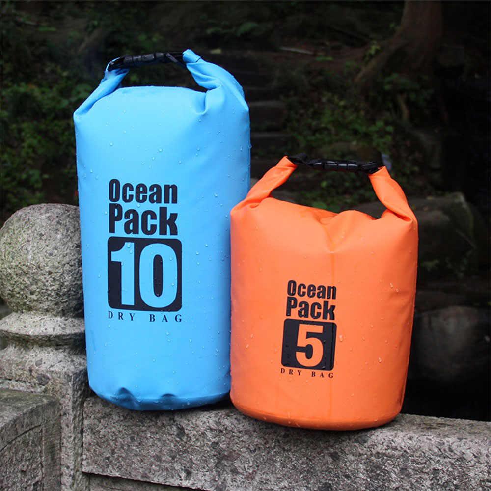 10L 20L 30L Oceaan Pack Dry Bag Outdoor Waterdichte Tas Zwemmen Rafting Strand Tas Verstelbare Riem 500D Pvc