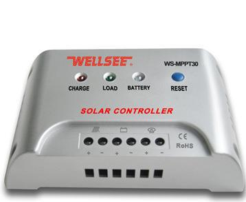 ФОТО Free shipping MPPT 30A 12v / 24V automatic identification  solar controller, high efficiency solar charge controller