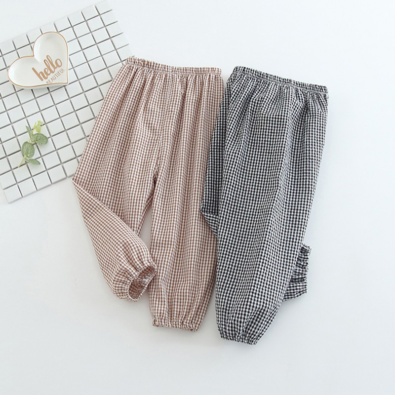 PP Pants Trousers Baby Harem Girls Newborn Babys Anti-Mosquito Kids Cotton Boys Sports