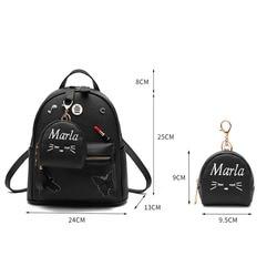 Luksusowe kobiety śliczne plecak torby szkolne dla nastoletnich dziewcząt bolsos mochila feminina bagpack podróży plecak szkolny kawaii bolsa sac 3