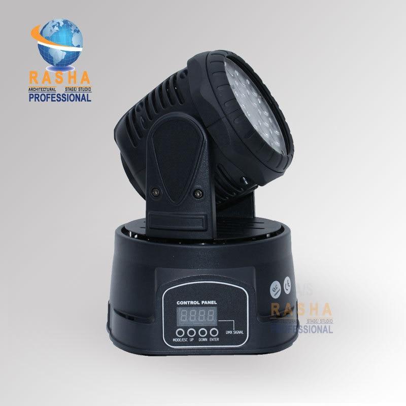 1X Lot China Supplier Lowest  Price High Brightness 18*3W RGB Mini Moving Head Beam,Moving Head Wash1X Lot China Supplier Lowest  Price High Brightness 18*3W RGB Mini Moving Head Beam,Moving Head Wash