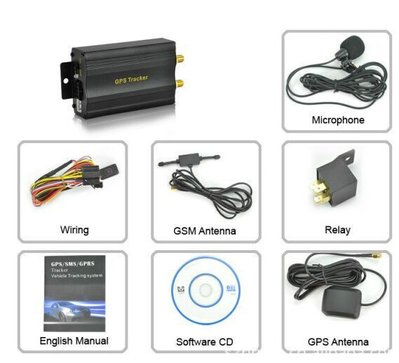 TK103A Vehicle Car GPS SMS GPRS Tracker Real Time Tracking Device Syatem BE