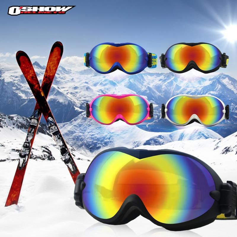 Prix pour OSHOW Ski Lunettes Double Lentille Lunettes De Sport Hommes Femmes Neige Snowboard Lunettes de Ski Lunettes De Soleil Motoneige Lunettes de Neige