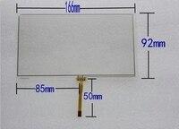 166*92 neue 6 95 inch touch screen für auto DVD GPS touch panel 166mm * 92mm