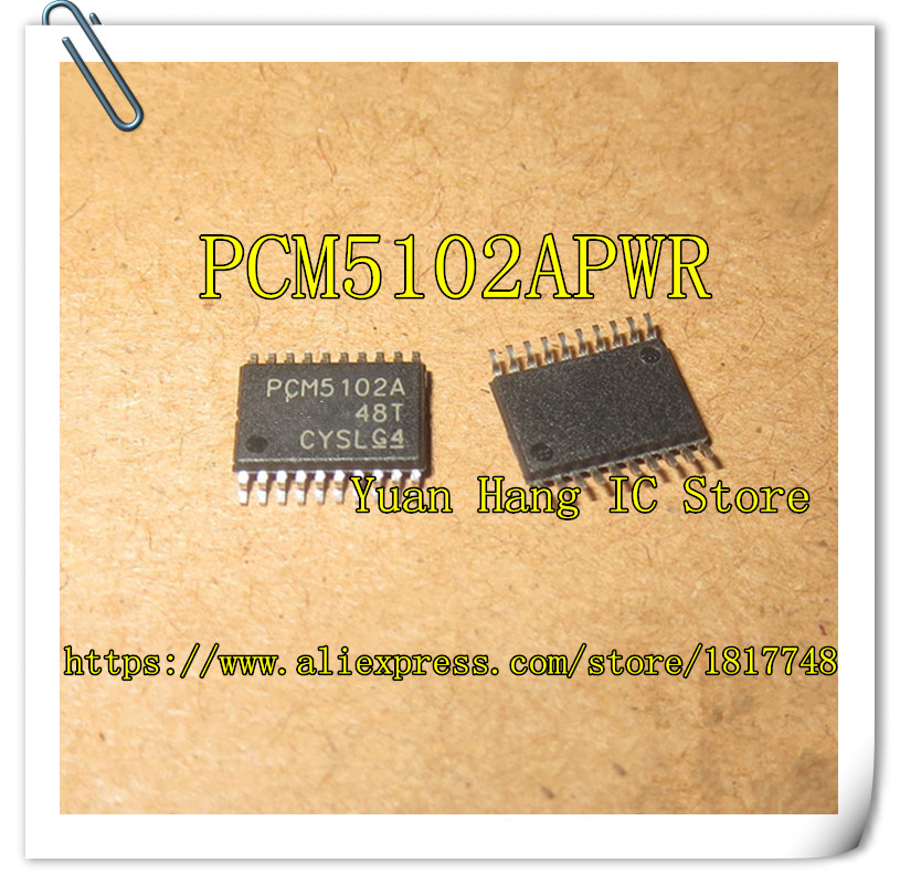 Battery Accessories & Charger Accessories Lovely Free Shipping 5pcs/lot Pcm5102apwr Pcm5102apw Pcm5102a Pcm5102 Ttsop20 Colours Are Striking
