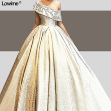 Lowime Noble Ball Gown vestido de festa Floor Length Dress