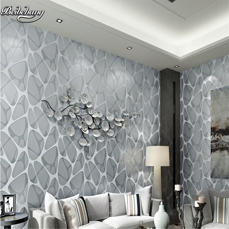 Beibehang 3D stéréo moderne nid d'oiseau Cube d'eau papier peint chambre salon TV fond Restaurant papier peint