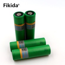 4PCS 100% original 3.7V 3000 MAH Li ion rechargeable 18650 battery us18650 vtc6 30A Electronic cigarette toys tools flashlight