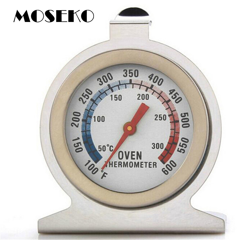 MOSEKO Hot Sale Dapur Memasak Daging Suhu Stand Up Dial Oven Thermometer Suhu Gauge Gage