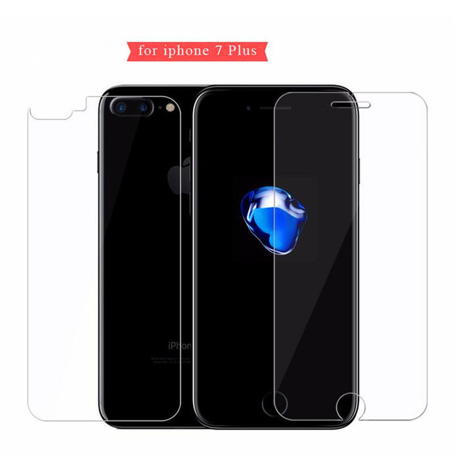 Front and Back 2X Tempered Glass for iPhone X 8 7 6 6S Plus Screen Protector For iPhone 4 4S 5 5s SE Protective Gehard glas sklo 5