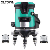 XLTWON Green light infrared level meter 2 /3 /5 line 6 points Laser light level meter outdoor line lighter 1 line gauge