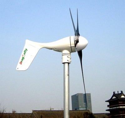 CE, russie, RoHS a approuvé le générateur d'éolienne 600 w, contrôleur de charge 12 v/24/48 v comprenant!