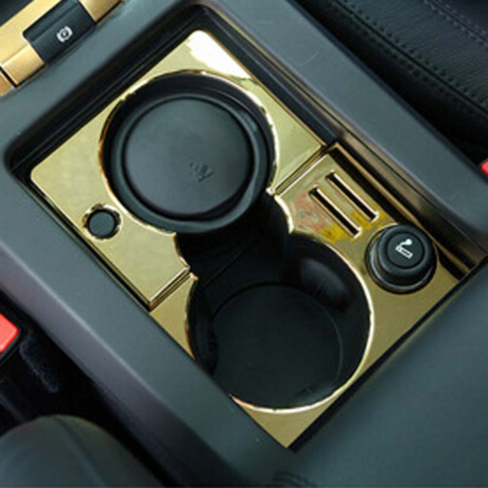 interior Accessories for land rover discovery sport console armrest cup holder storage magic box decorative cover stikcer trim