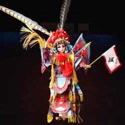 Женское боди BJD East Charm General Mu Guiying с одеждой, подставкой и коробкой 35 см, коллекция игрушек F & D, подарок
