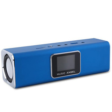 Mini Speaker Music Angel Active-Audio Portable Original FM USB with SD/TF JH-MAUK5B Lcd-Screen